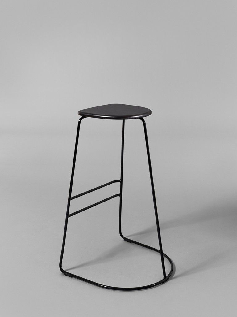 Stupendous Citizen Ghost Stackable Stool In Black Image By Uwap Interior Chair Design Uwaporg