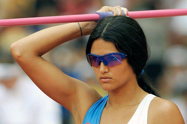 Leryn Franco - Paraguayan Javelin Thrower - London Olympics 2012