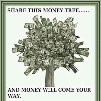 The money tree brings the GREEN!  Pass on and watch the green Flo - http://bizoptraffic.com/links/6025