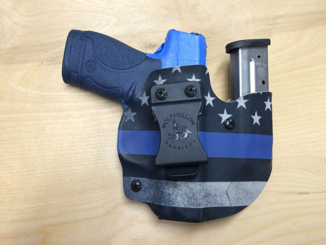 Smith /& Wesson M/&P  Shield 9mm//40 Custom Kydex Holster /& Mag Holster Combo