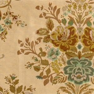 This is a great green, tan, and brownvelvet floralupholstery fabric. Ideal as throw pillow fabric, couch upholstery, or chair upholstery. Dry cleaning recomended. Compared at $33.95.  Weight: Medium Width: 56.00 in. H. Repeat: 27.00 in. 134 m