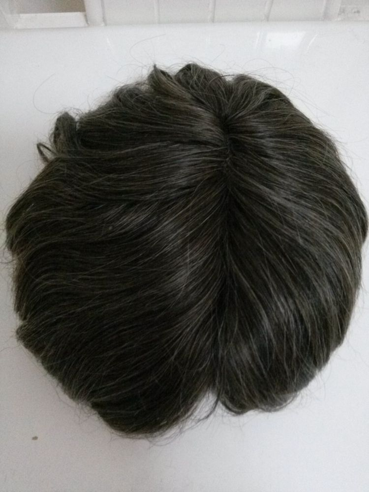 9831d5c2f European human hair mens toupees and hairpieces,wigs with grey hair ...