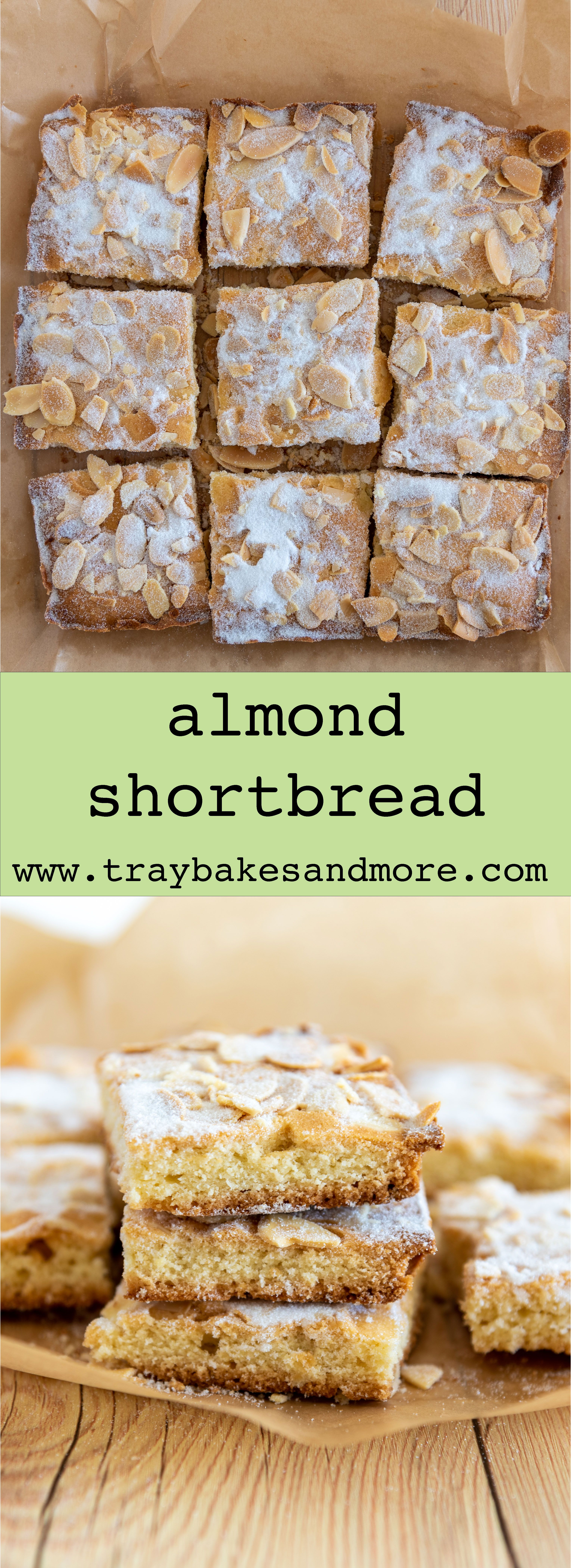 Almond Shortbread In 2021 Almond Recipes Baking Almond Recipes Biscuit Recipes Uk