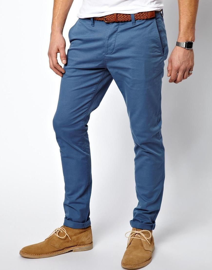 dc4590c92bbc ASOS   ASOS Skinny Chinos at ASOS   Casual   Mens fashion:__cat__ ...