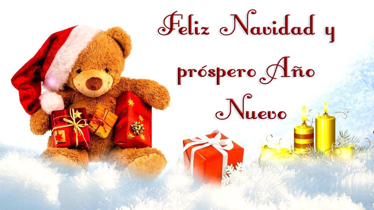 Frases bonitas para desear feliz navidad y prospero a±o nuevo