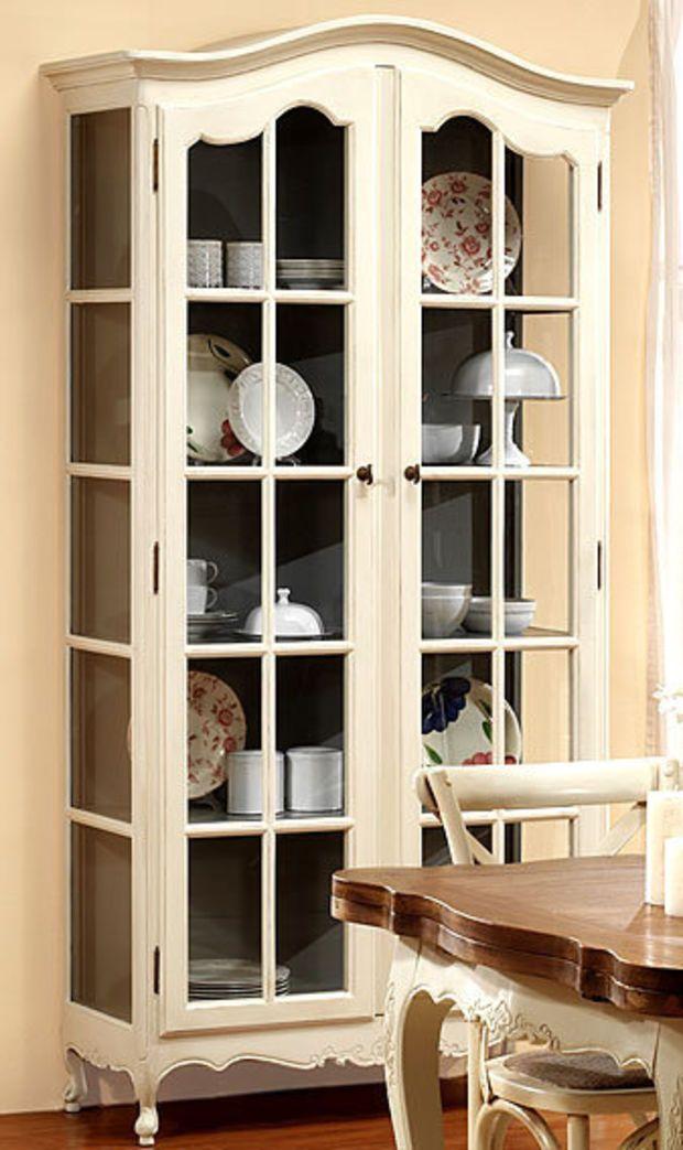 Vitrina 113 cms. nantes   muebles de estilo vintage   vitrinas ...