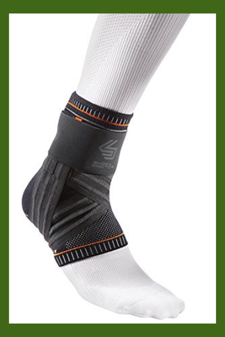 Shock Doctor Ultra Knit Ankle Brace W/Figure 6 Strap