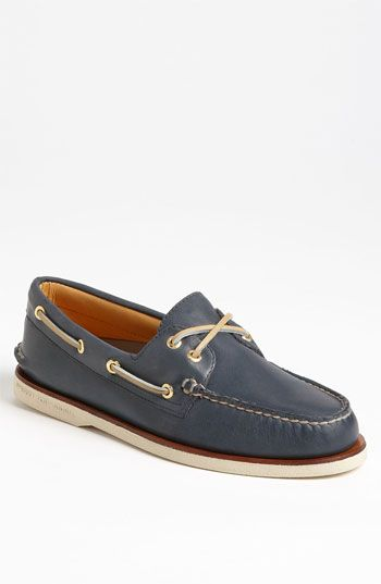 Authentic Original Leather Boat Shoes - NavySperry Top-Sider