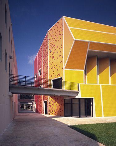 FIU Architectural Buildings  I did the precast concrete