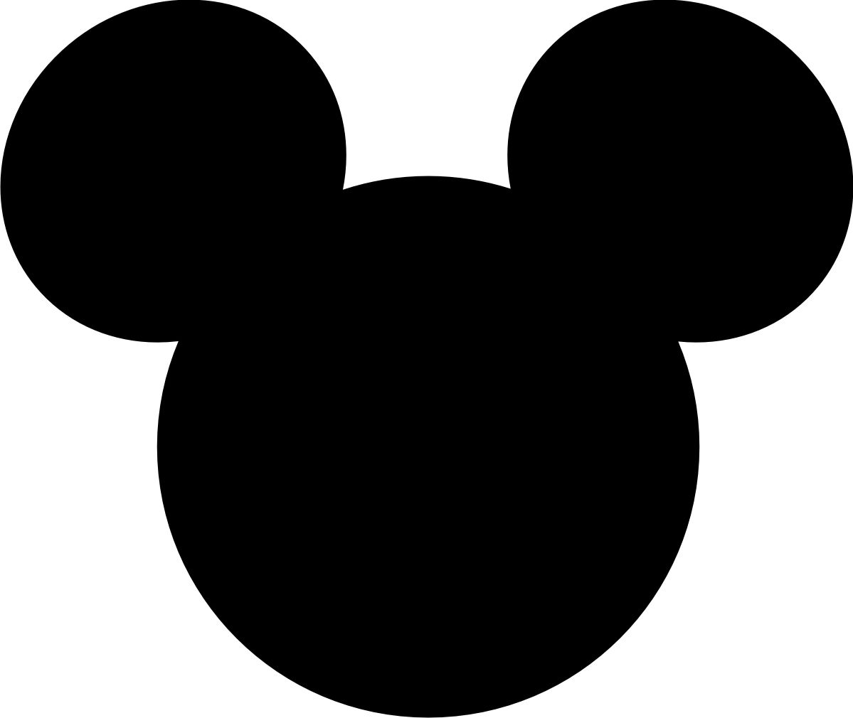 graphic regarding Free Printable Mickey Mouse Head Template known as mickey mouse major printable cutouts Can your self bet in which