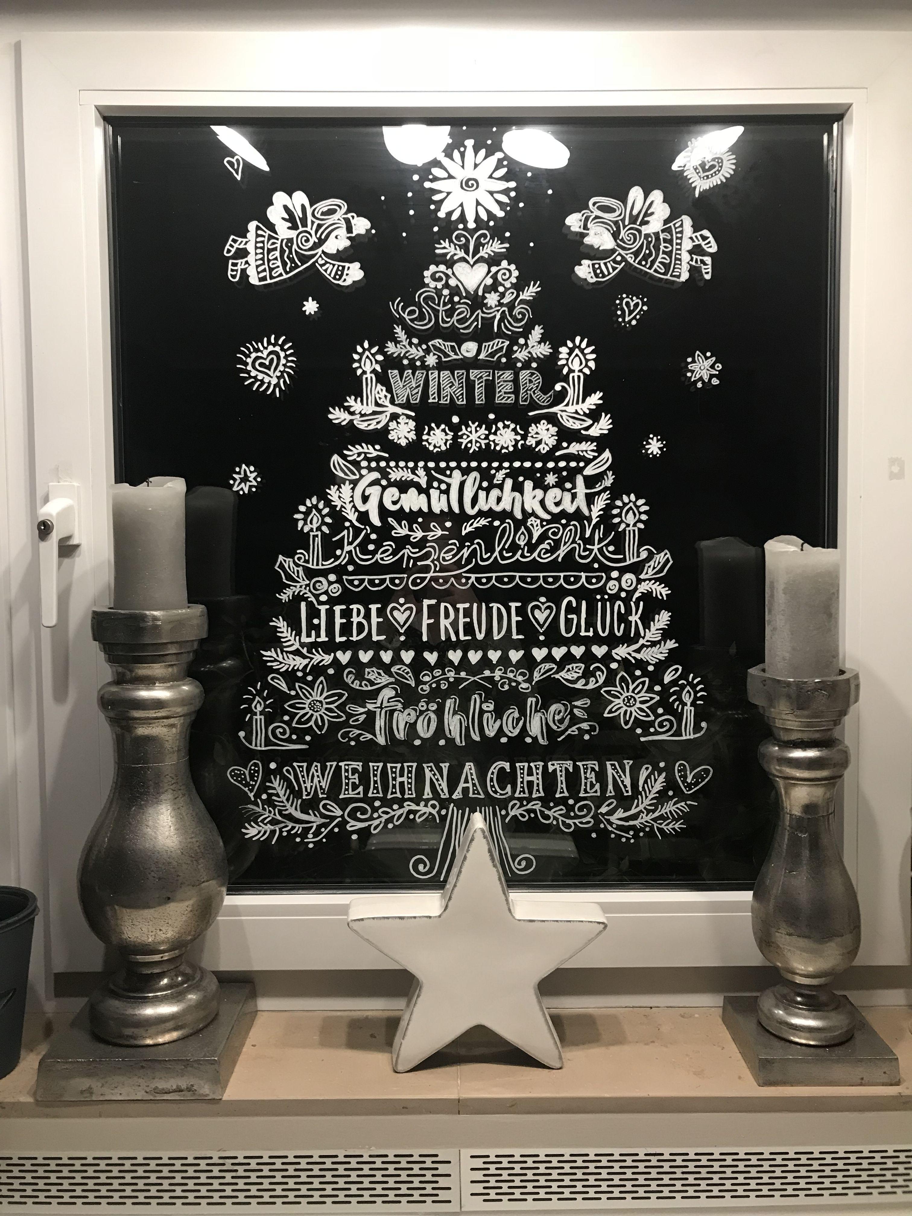 vorlagen fensterbilder weihnachten kreidestift kostenlos