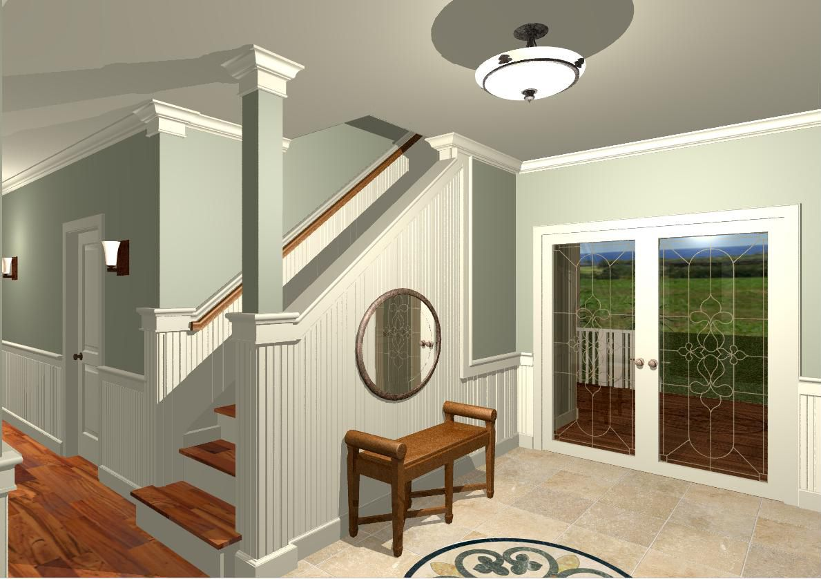 Foyer Wall Paint Ideas : Decorating ideas wall inserts in foyers stairs foyer and
