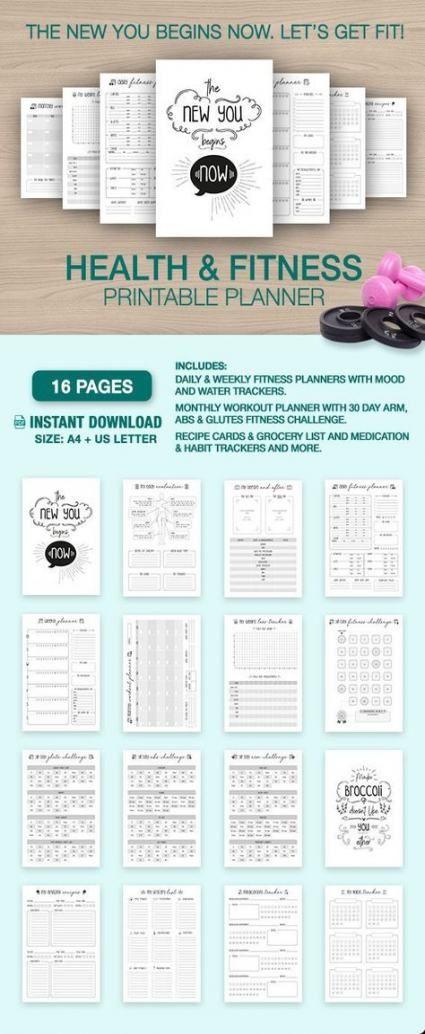 Fitness Planner Notebooks Weight Loss 30+ Super Ideas #fitness