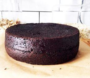 chokladtårta med kaffesmak