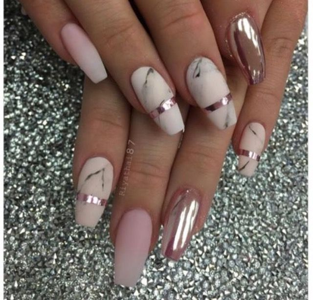Pin by jemema luvlee on nail designs pinterest winter nails wild salt spirit here is a combination of matte color in marble design with glossy paint on one nail so fine that you can see yourself in it prinsesfo Image collections