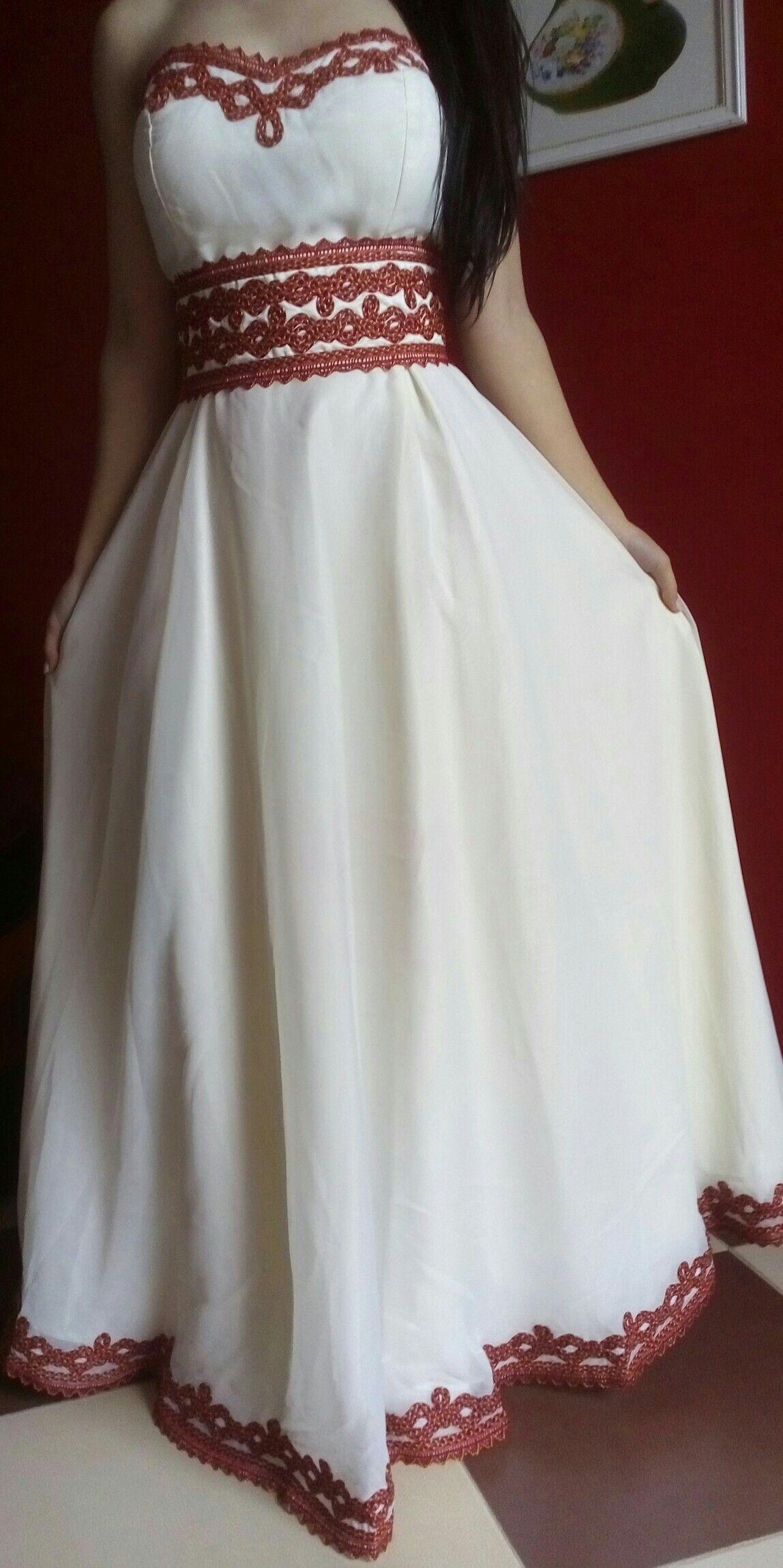 Pin by Dààlÿn Sewing\'s✂ on robe kabyle | Pinterest | Dressing gown