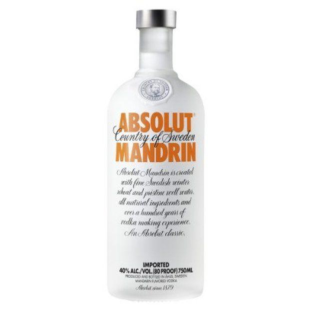 Absolut Mandrin Drinks Vodka Fruity Cocktails Vodka Bottle