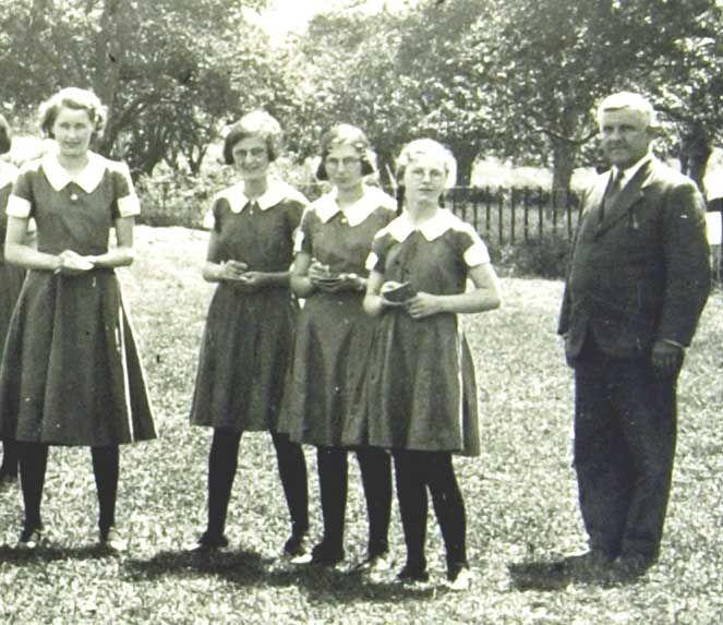 1940s 1930s School Girl Costume