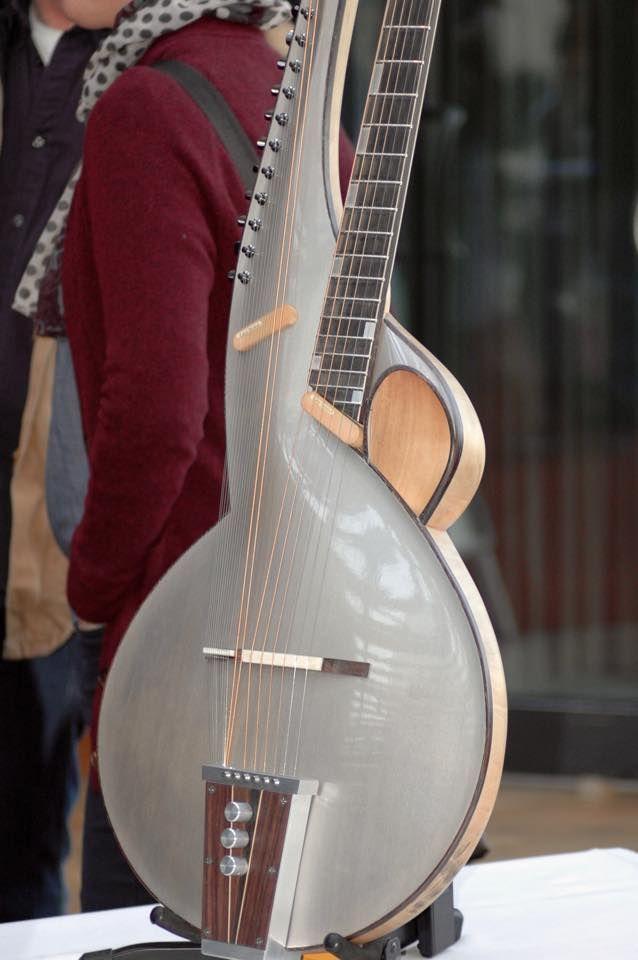 thierry andre harp guitar inspiration guitar acoustic guitar custom guitars. Black Bedroom Furniture Sets. Home Design Ideas