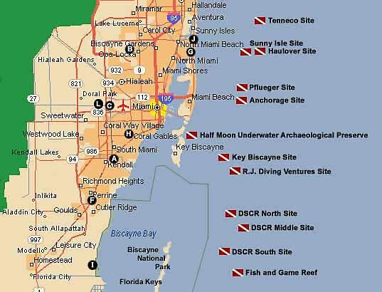 Scuba Diving Locations in Florida | Miami-Dade | Scuba ... on map of southwest florida cities, map of south korean cities and towns, map of florida major cities, map of southeast florida cities, full size map of florida cities, map of central florida, map of greater boston cities, map of south carolina cities, florida road map with cities, map of main florida cities, map of southern cal cities, map of broward county cities, map of south african cities, map of broward county florida, southern florida cities, map of louisville cities, map of palm beach county cities, map of miami-dade county, map of so florida, google map florida cities,