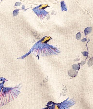 Product Detail | H&M SE watercolor birds
