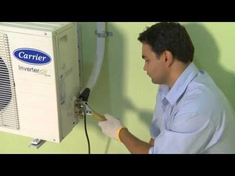 Instalação  central de ar condicionado - YouTube