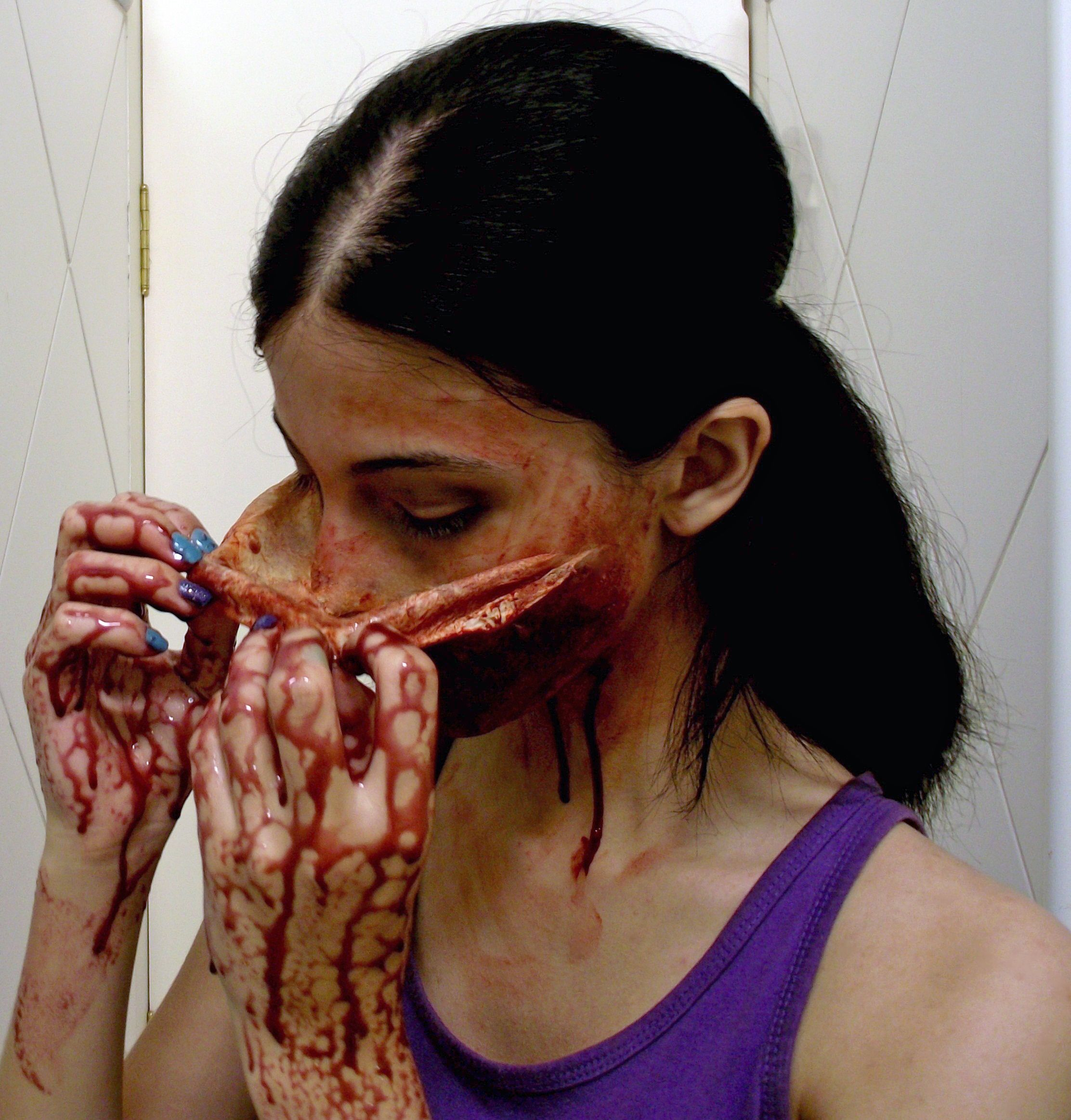 Removing The Mask SFX Makeup by