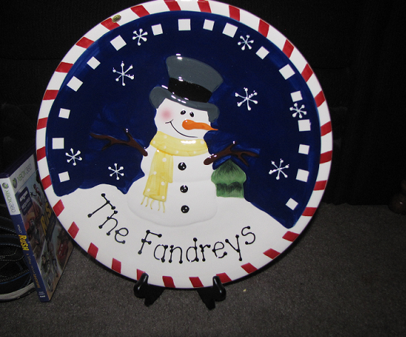 personalized-holiday-plate