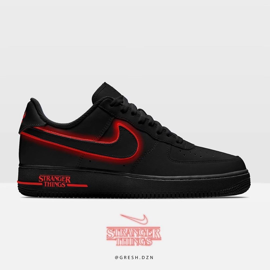stranger things kyrie shoes