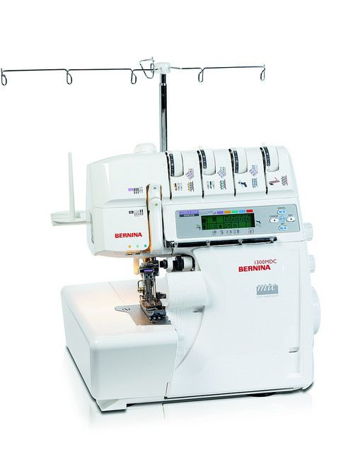 The BERNINA 1300 MDC's patented mtc (micro thread control) system is a genuine technical highlight, permitting precise adjustment of the over-edge thread length at the simple turn of the control dial. The 1300 MDC's micro-thread control affords you optimal thread control and perfect sewing results, regardless of the stitch chosen or the material of your project – a clever feature guaranteeing the highest stitch quality to ambitious sergers and commercial workshops alike.