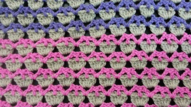 Video Learn A New Crochet Stitch The Cupcake Stitch Free Afghan