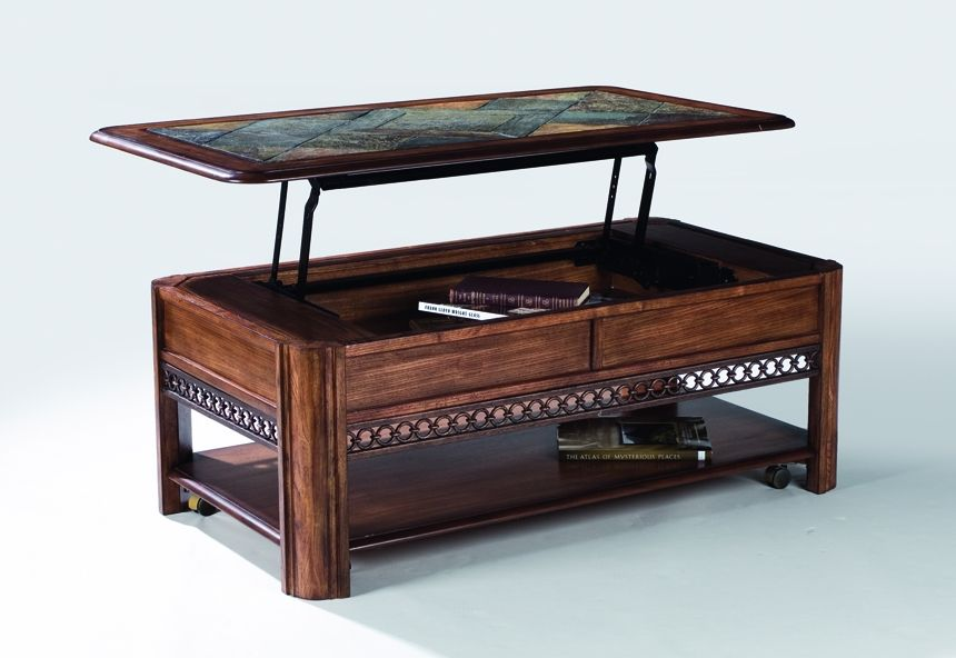 Click to enlarge Lift up coffee table, Coffee table with