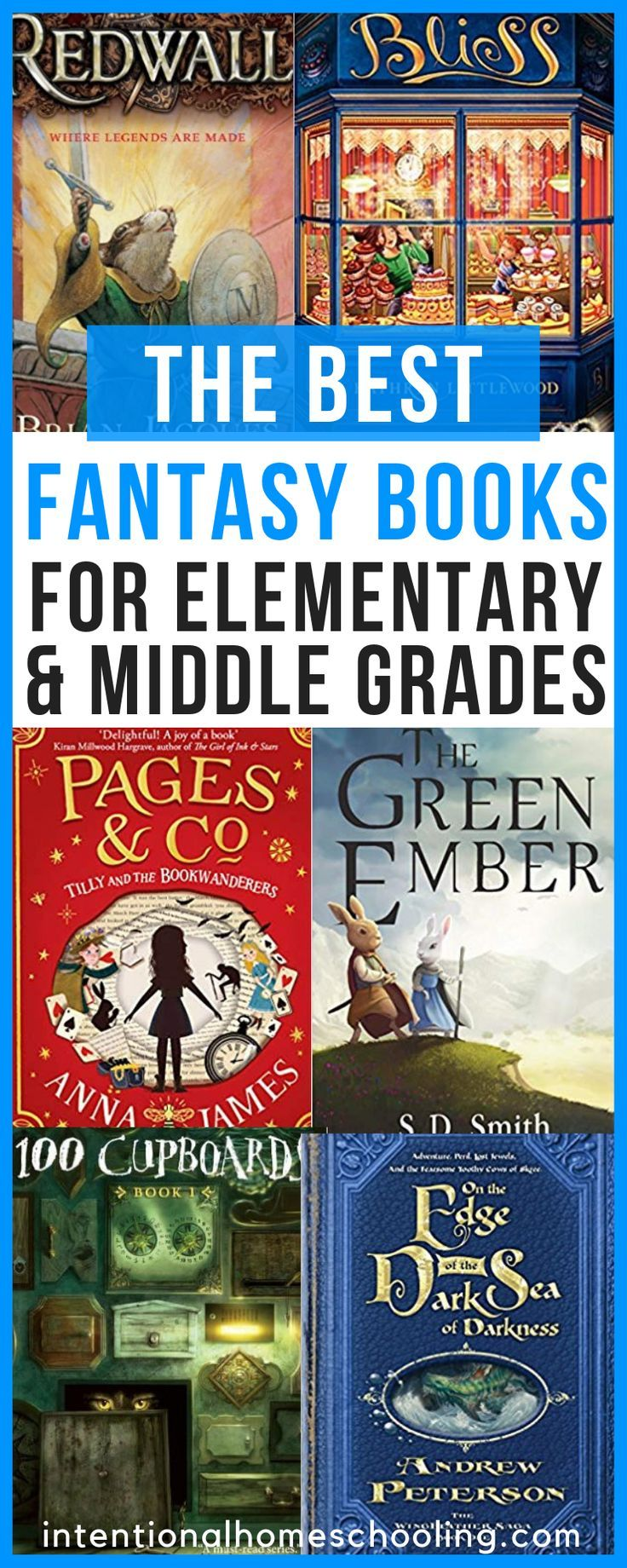 Fantasy Book Recommendations For Elementary and Middle Grades is part of Fantasy books, Elementary books, Book recommendations, Middle grade fantasy, Middle grade books, Books - I was not a fantasy reader as a child and boy, do I ever feel like I missed out! I wasn't even a fantasy reader as an adult until recently! I spent the