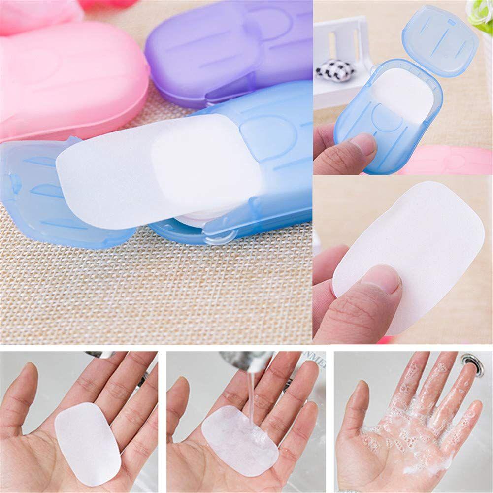 Portable Soluble Skin Care Soap Paper In 2020 Mini Soaps Soap