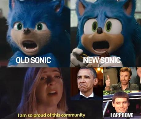 New Sonic Movie Trailer Memes In 2020 Funny Memes Sonic Memes