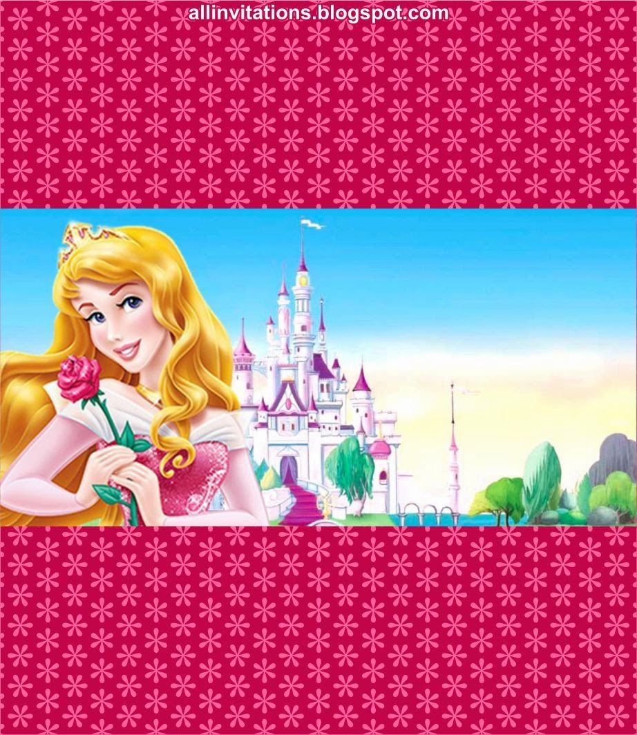 Etiqueta Chocolate Princesa Aurora | Kits para imprimir | Pinterest ...