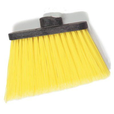 Carlisle Food Service Products Duo-Sweep® Medium Duty Angle Broom with Flare Color: Yellow