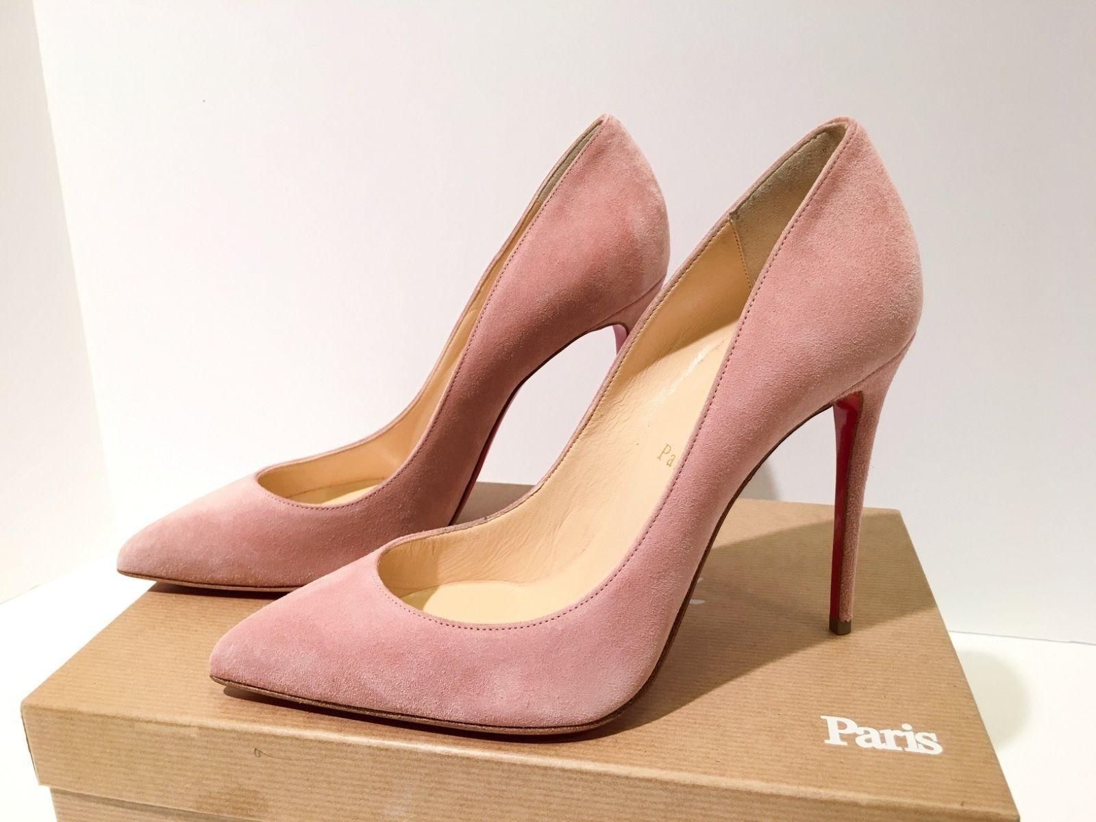 e6ff9db723c Christian Louboutin Nib Size 36.5 Suede Pigalle Follies 100 Pink Rose Pumps.  Get the must-have pumps of this season! These Christian Louboutin Nib Size  36.5 ...