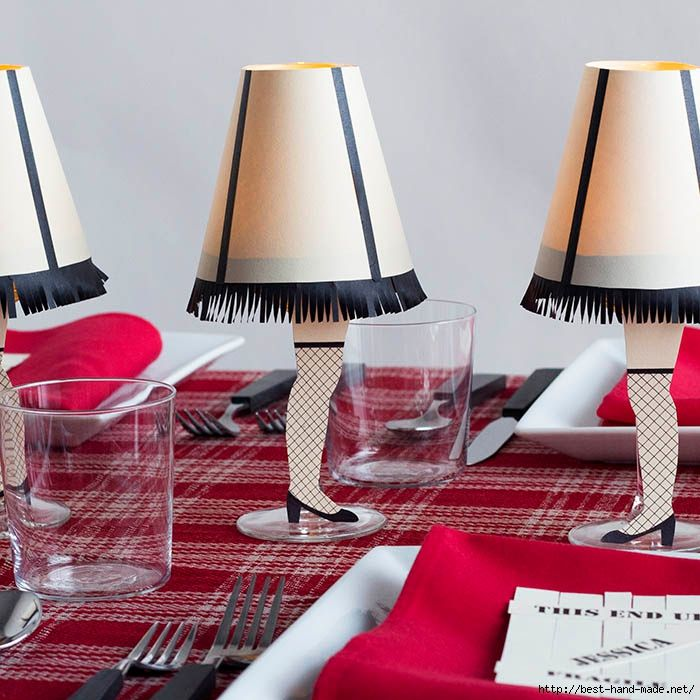 Traditional Christmas Party Ideas Part - 50: David Stark Design Creates A Christmas Story Inspired Fête (Design*Sponge)