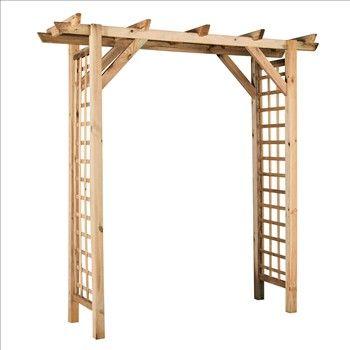 pergola double droite eco en epic a h 210 cm l 210 p70 81 jardin pinterest pergola. Black Bedroom Furniture Sets. Home Design Ideas