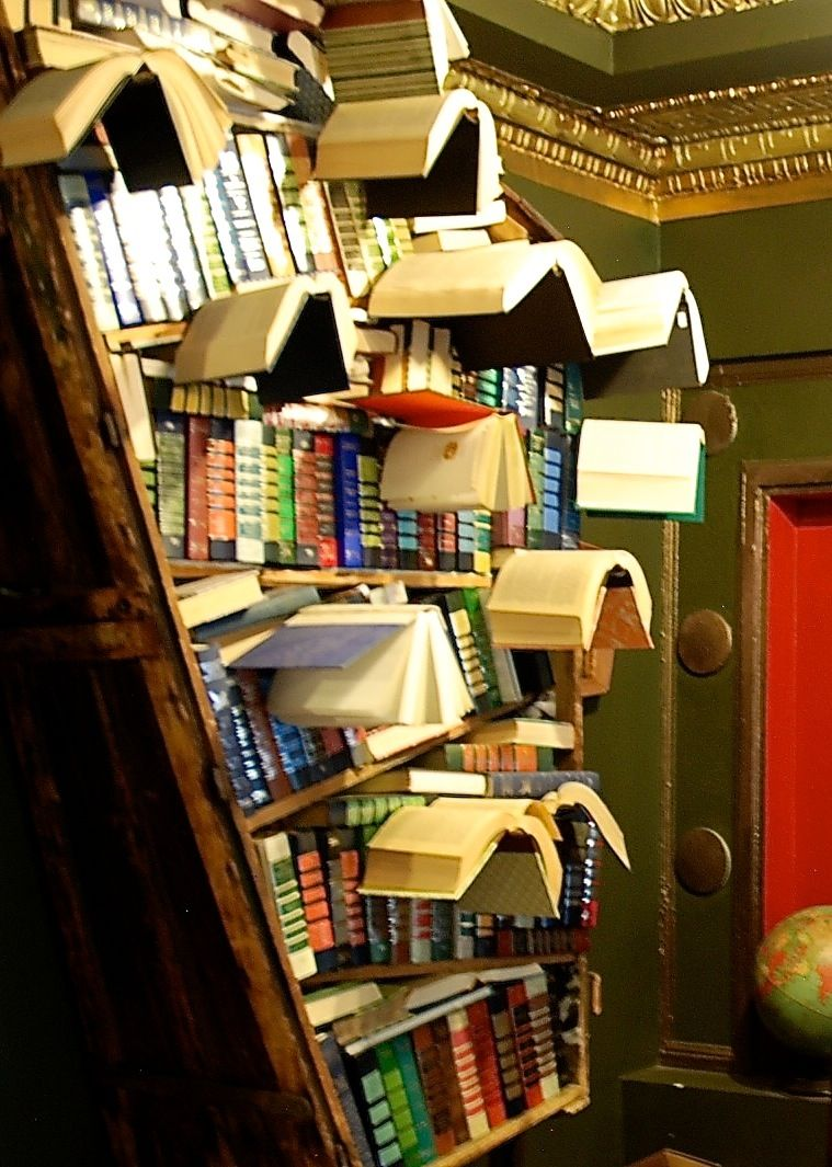 Bookshelf Gone Mad The Last Bookstore In Downtown Los