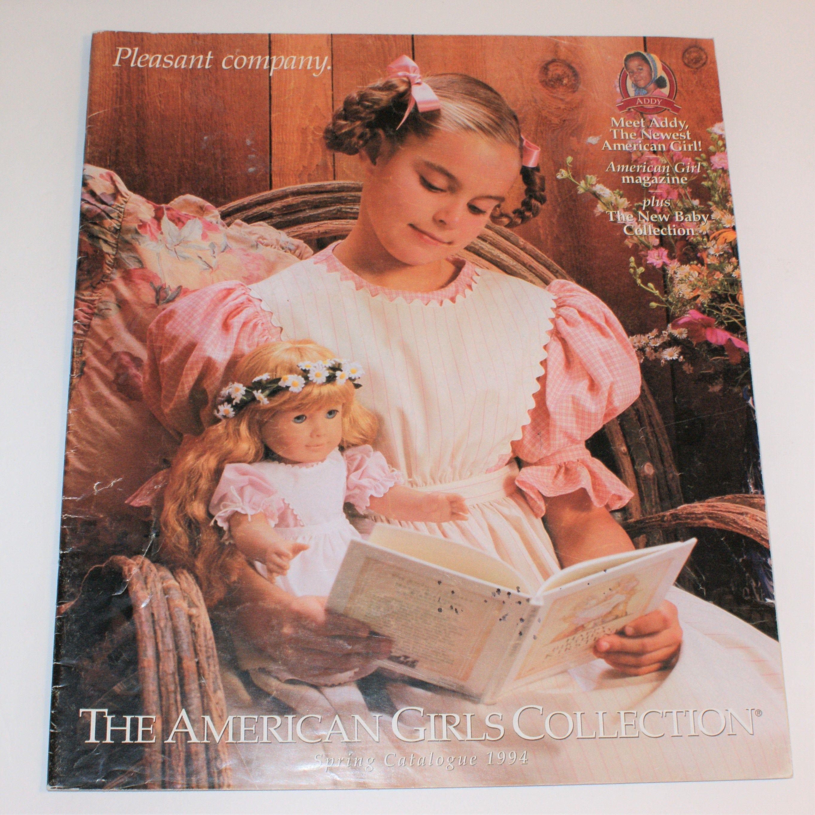 1994 pleasant company catalog spring american girl