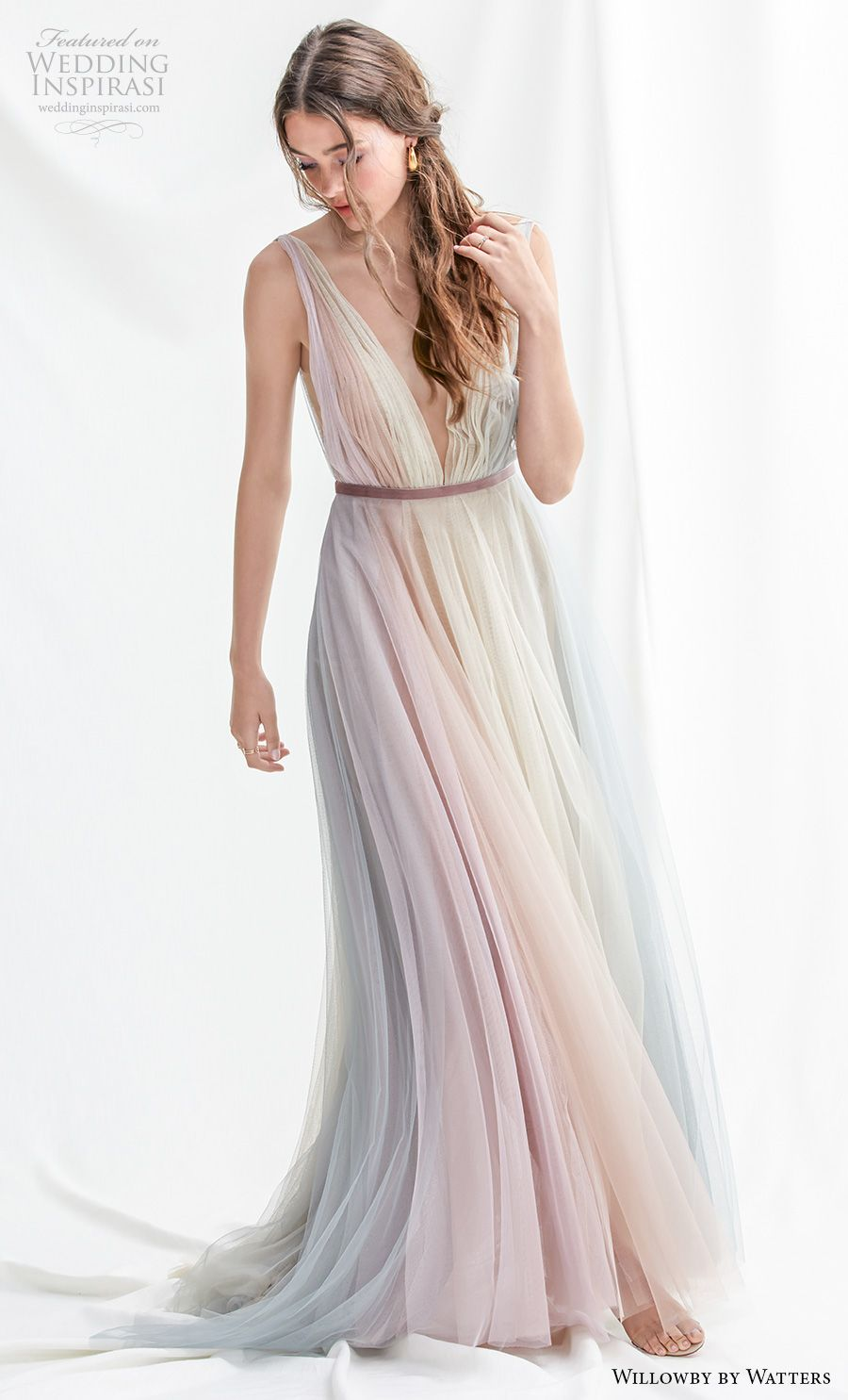 Willowby By Watters Spring 2019 Wedding Dresses Wedding Inspirasi Wedding Dresses Colored Wedding Dresses Pastel Wedding Dresses