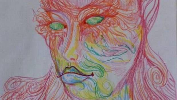 Autorretratos antes y después de consumir LSD   http://caracteres.mx/autorretratos-antes-y-despues-de-consumir-lsd/?Pinterest Caracteres+Mx