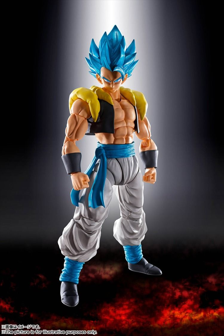 GOGETA 2 PACK NUOVO NEW Bandai SH Figuarts Dragon Ball Super BROLY FULL POWER