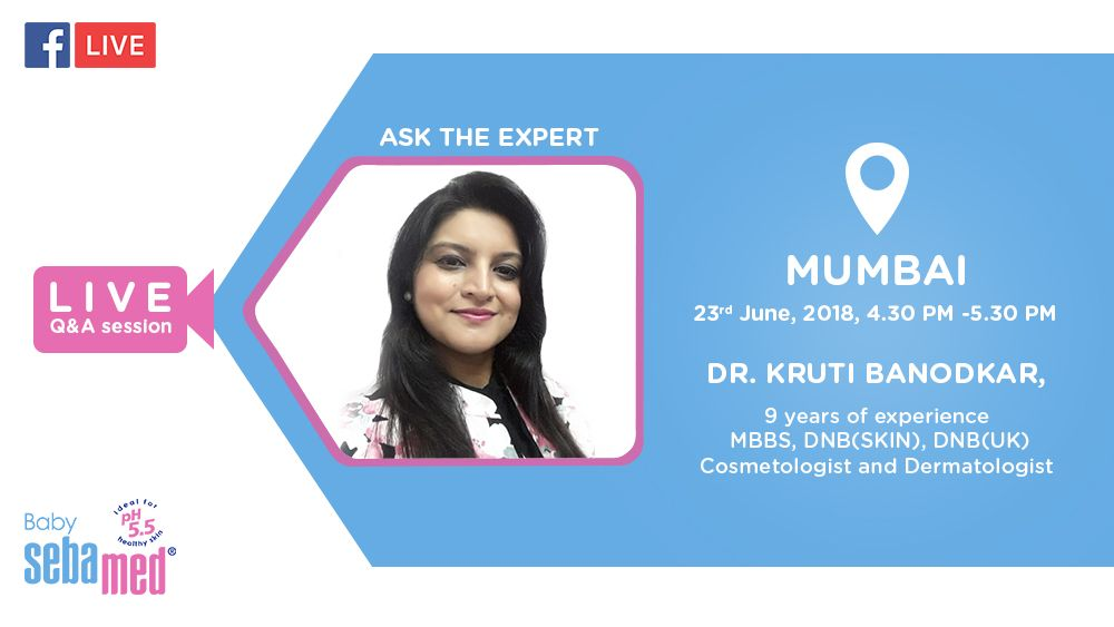 Join us at yet another live Q & A session! Dr. Kruti