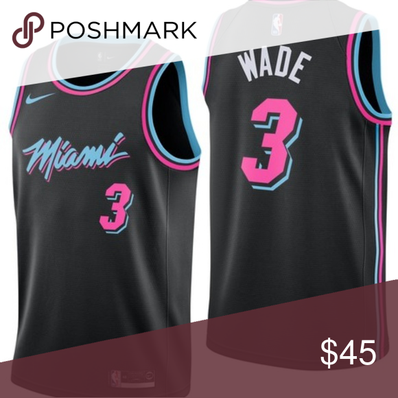 best loved 589f2 2ecf8 NBA D.WADE AUTHENTIC JERSEY Brand new D. Wade Authentic ...