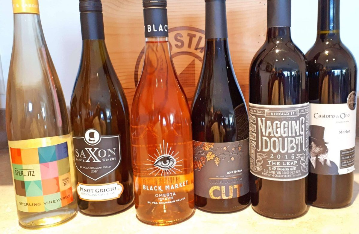 Six Recommended Bc Wines For Labour Day Wines Organic Wine Labour Day
