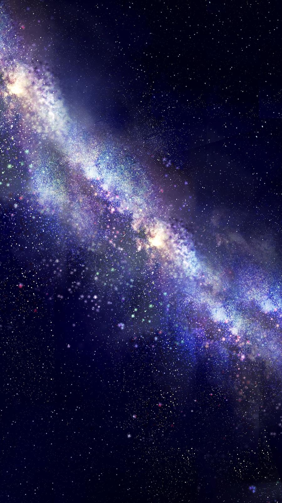 Midnight Milky Way 宇宙 壁紙 銀河 星空