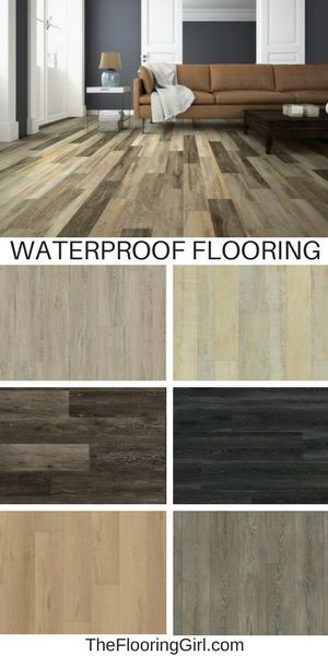 Check Out This New Flooring That Looks Like Hardwood But It S Waterproof